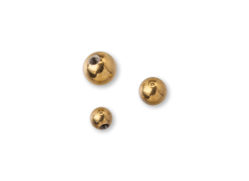 PVD Gold Steel Screw on Ball