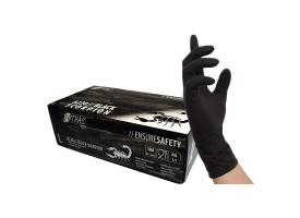 Nitras Black Scorpion Latex Gloves