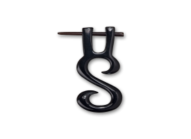 Horn Tribal Pin  - style 3