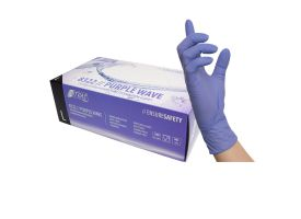 Nitras Purple Nitrile Gloves