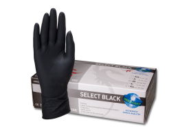 Select Black Latex Gloves