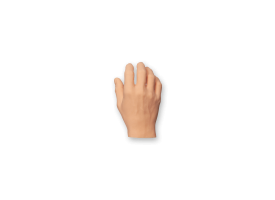 Silicone Body Part - Hand