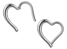Steel Hinged Heart